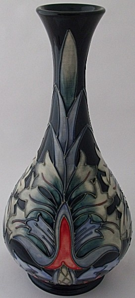 Moorcroft Pottery Snakeshead Vase Designed By Rachel Bishop